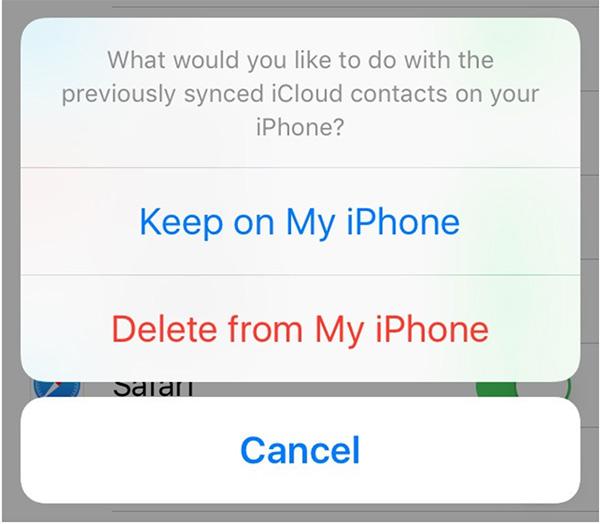 Khôi phục lại danh bạ đã xóa trên iPhone qua iCloud (2)