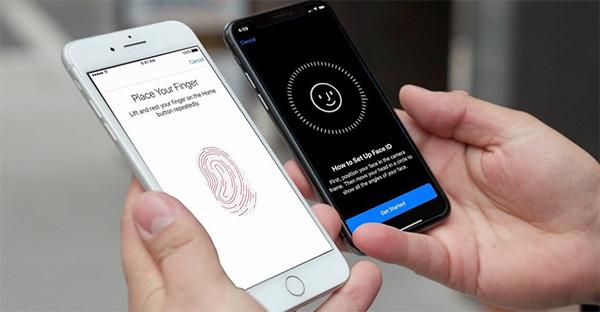 Touch ID có trên iPhone 5S đến iPhone 8 Plus