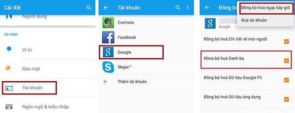Người dùng đang có nhu cầu chuyển đổi sử dụng giữa thiết bị Android và iPhone hoặc ngược lại nhưng chưa biết cách di chuyển danh bạ an toàn? Vậy hãy thử tham khảo những cách chuyển danh bạ từ iPhone sang Android hoặc ngược lại vô cùng đơn giản và dễ dàng thực hiện thông qua các công cụ hỗ trợ.  Hướng dẫn chuyển danh bạ từ Android sang iPhone Bước 1: Trên điện thoại Android, người dùng cần thực hiện các thao tác sau: Mở mục Cài đặt >> Tài khoản và đồng bộ hoặc Tài khoản và sao lưu >> Tài khoản >> Chọn tài khoản Google sử dụng trên Android (nếu chưa có tài khoản, nhấn chọn Thêm để tạo mới) >> chọn Đồng bộ tài khoản >> Danh bạ >> Đồng bộ ngay.  Bước 2: Trên điện thoại iPhone thực hiện các bước sau: Mở Cài đặt >> Email >> Tài khoản >> Thêm tài khoản >> Google >> Đăng nhập tài khoản Google (Gmail) >> Allow >> Danh bạ >> Lưu trên iPhone của tôi.  Chỉ với 2 bước thao tác trên, người dùng đã có thể dễ dàng chuyển danh bạ từ Android sang iPhone nhanh chóng và đảm bảo an toàn dữ liệu.  Chuyển danh bạ từ iPhone sang Android bằng tài khoản Google (Gmail) Với những chiếc điện thoại Android và iPhone cùng sử dụng chung tài khoản Google, thì việc đồng bộ danh bạ iPhone lên Gmail để chuyển sang Android sẽ vô cùng đơn giản. Người dùng chỉ cần bật tùy chọn tính năng Đồng bộ danh bạ (Sync Contacts) để tiến hành đồng bộ danh bạ từ iPhone sang Gmail rồi chuyển từ Gmail sang điện thoại Android. Bước 1: Trên thiết bị iPhone, bạn mở Settings >> Mail, Contacts, Calendars. Bước 2: Chọn Add Account rồi đăng nhập tài khoản Google hoặc Gmail của bạn.  Bước 3: Chọn mục Danh bạ (Contacts) phía dưới mục Account Settings. Bước 4: Trên điện thoại Android, mở mục Cài đặt >> Tài khoản >> Google >> (Tên tài khoản Gmail) >> Liên hệ để tiến hành đồng bộ danh bạ điện thoại với tài khoản Google. Đợi quá trình đồng bộ hóa hoàn tất, bạn mở mục Liên hệ (Contacts) trên điện thoại Android để kiểm tra toàn bộ danh bạ trên điện thoại iPhone đã được chuyển sang Android hay chưa nhé. Lưu ý, cách di chuyển danh bạ n