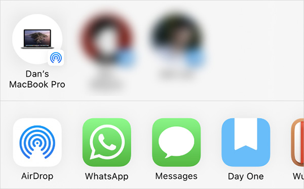 Chuyển danh bạ từ iPhone sang iPhone bằng AirDrop