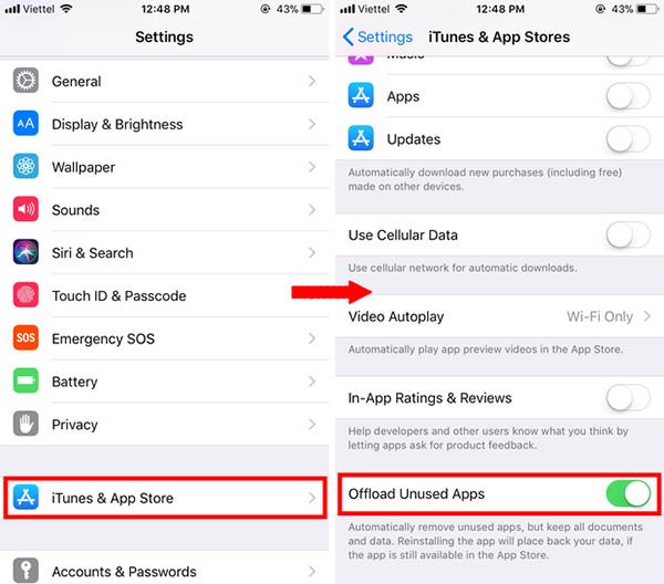 Tiến hành đồng bộ hình ảnh và video trên iPhone lên iCloud