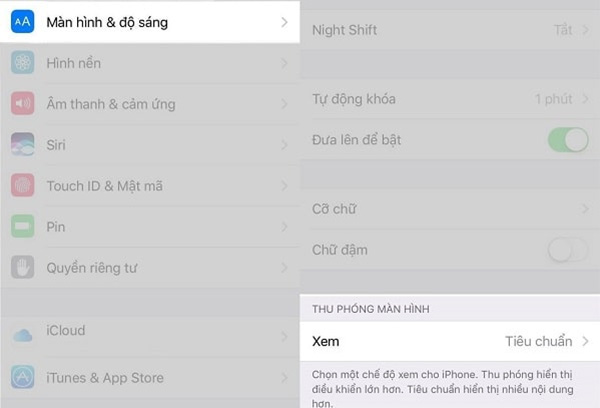 Cách hiển thị ngày giờ trên màn hình khóa iPhone
