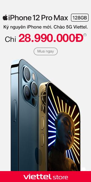 Mua iPhone 12 Pro Max chính hãng, giá tốt tại Viettel Store