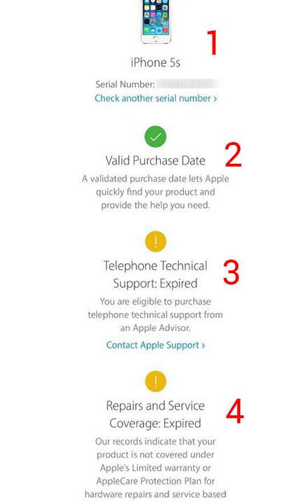Cách kiểm tra nguồn gốc xuất xứ iPhone qua số Serial