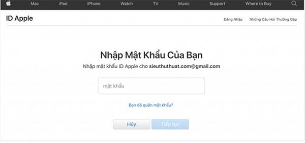 Cách thay đổi câu hỏi bảo mật iCloud (2)