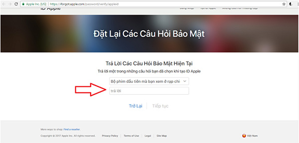 Cách reset câu hỏi bảo mật Apple ID (4)