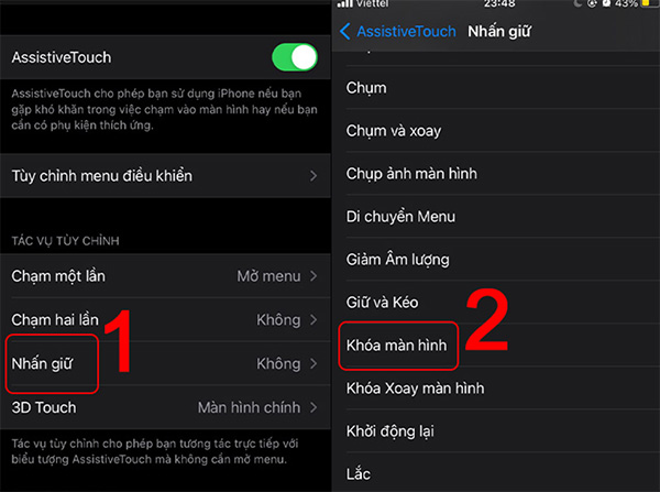 Tắt màn hình iPhone bằng nút Home ảo nhanh chóng (1)